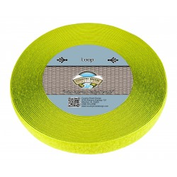 Hot Yellow Sew On Loop Only (1 inch)