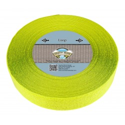 Hot Yellow Sew On Loop Only (2 inch)