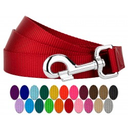 50 - 1 Inch Nylon Dog Leashes