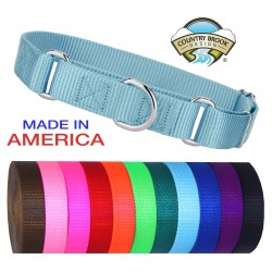 50 - Nylon Martingale Heavyduty Dog Collars (Various Sizes & Colors)
