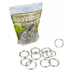 Country Brook Design® 1 1/4 Inch Welded Heavy O-Rings