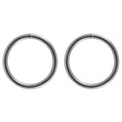 Country Brook Design® 2 Inch Welded Heavy Duty O-Rings
