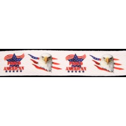 Proud American Cotton Ribbon - Various Lengths & Widths
