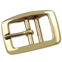 1/2 Inch Brass Plated Tongue Buckle Closeout