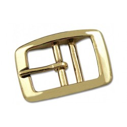 3/4 Inch Brass Plated Tongue Buckle Closeout