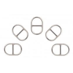 5/8 Inch Metal Round Super Wide-mouth Lite Weight Triglide Slides Closeout
