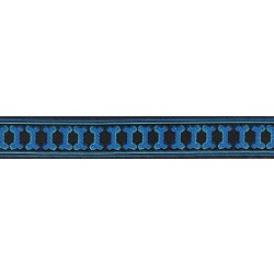 Illusion Bone Jacquard Ribbon Closeout - Various Widths & Lengths Available