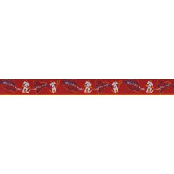5/8 Inch My Little Angel/Devil Jacquard Ribbon Closeout - Various Lengths Available