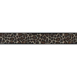 Leopard Print Jacquard Ribbon Closeout-Various Widths & Lengths Available