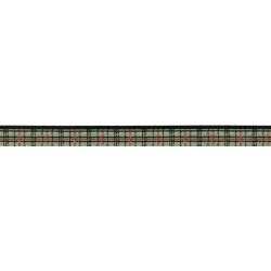Preppy Puppy Plaid Jacquard Ribbon Closeout - Various Widths & Lengths Available
