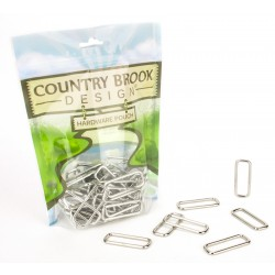 1 1/2 Inch Lite Welded Rectangle Rings