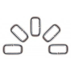 1 Inch Heavy Welded Rectangle Rings