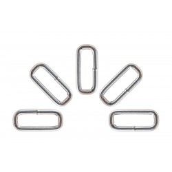 1 1/2 Inch Heavy Welded Rectangle Rings