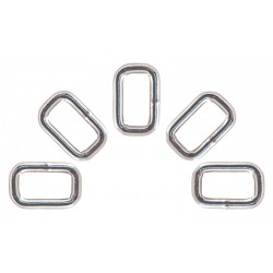 3/4 Inch Heavy Welded Rectangle Rings