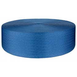 2 Inch Egyptian Blue Seat-Belt Polyester Webbing Closeout