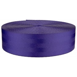 2 Inch Seat-Belt Periwinkle Polyester Webbing Closeout