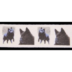 Schipperkes Cotton Ribbon - Various Lengths & Widths