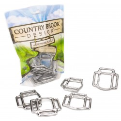 1 Inch Stainless Steel 3-Sided Horse Halter Squares