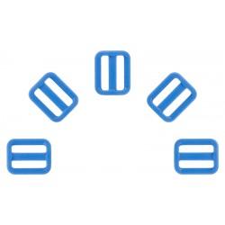 3/4 Inch Blue Heavyduty Triglide Slides YKK