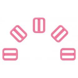 3/4 Inch Pink Heavyduty Triglide Slides YKK