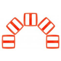 1 Inch Neon Orange YKK Wide Mouth Heavyduty Triglide Slides