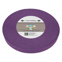 1 Inch Purple Heavy Cotton Webbing