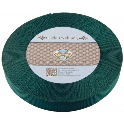 1 Inch Green Heavy Nylon Webbing