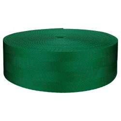 2 Inch 4 Panel Kelly Green Light Weight Nylon Webbing, Closeout