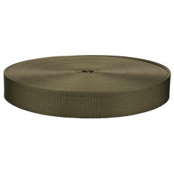 1 Inch Olive Drab Green 7 Lite Weight Nylon Webbing Closeout