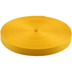 3/4 Inch Gold Heavy Plus Nylon Webbing Closeout