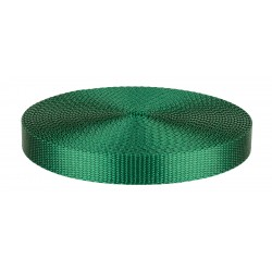 3/4 Inch Green Heavy Plus Nylon Webbing Closeout