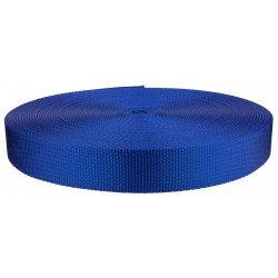 1 1/4 Inch Royal Blue Heavy Plus Nylon Webbing Closeout