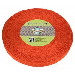 1 Inch Orange Polypro Webbing