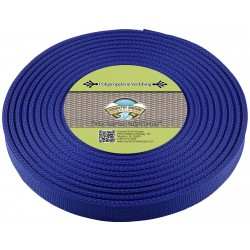 3/4 Inch Royal Blue Polypro Webbing