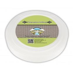 1 Inch White Polypro Binding
