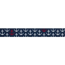 3/4 Inch Anchors Away Polyester Webbing