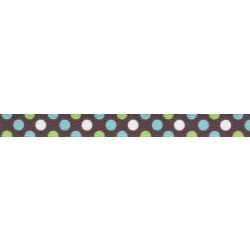 3/8 Inch Barrington Dots Polyester Webbing