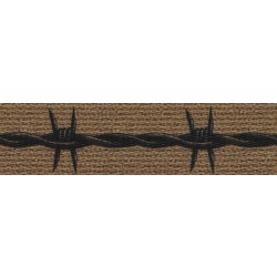 1 Inch Barbed Wire Polyester Webbing