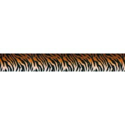 1 Inch Bengal Tiger Stripes Polyester Webbing