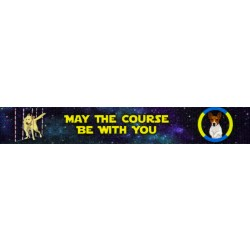 1 Inch Course Be With You Polyester Webbing