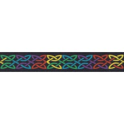 1 Inch Celtic Pride Polyester Webbing
