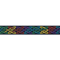 5/8 Inch Celtic Pride Polyester Webbing