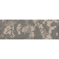 3 Inch Digital Camo Polyester Webbing Closeout