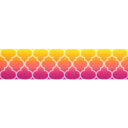 5/8 Inch Fabulous Ombre Polyester Webbing