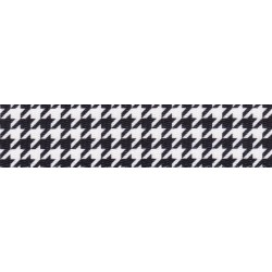 5/8 Inch Houndstooth Polyester Webbing