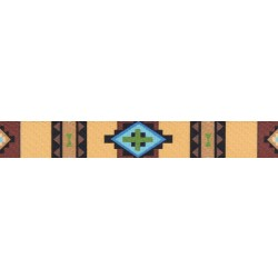 5/8 Inch Native Arizona Polyester Webbing
