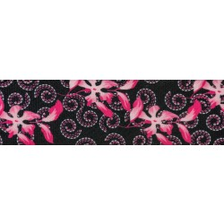 2 Inch Pink Honeysuckle Breeze Polyester Webbing