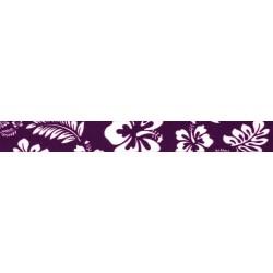 1 1/2 Inch Purple Hawaiian Polyester Webbing