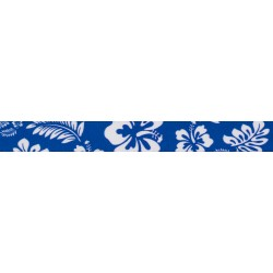 1 Inch Royal Blue Hawaiian Polyester Webbing