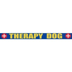5/8 Inch Therapy Dog Polyester Webbing